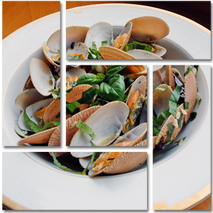 Steamed Clams with Fresh Herbs