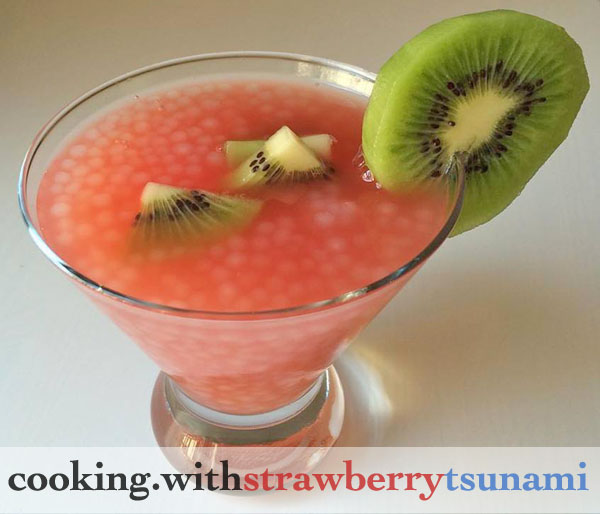 watermelon sago